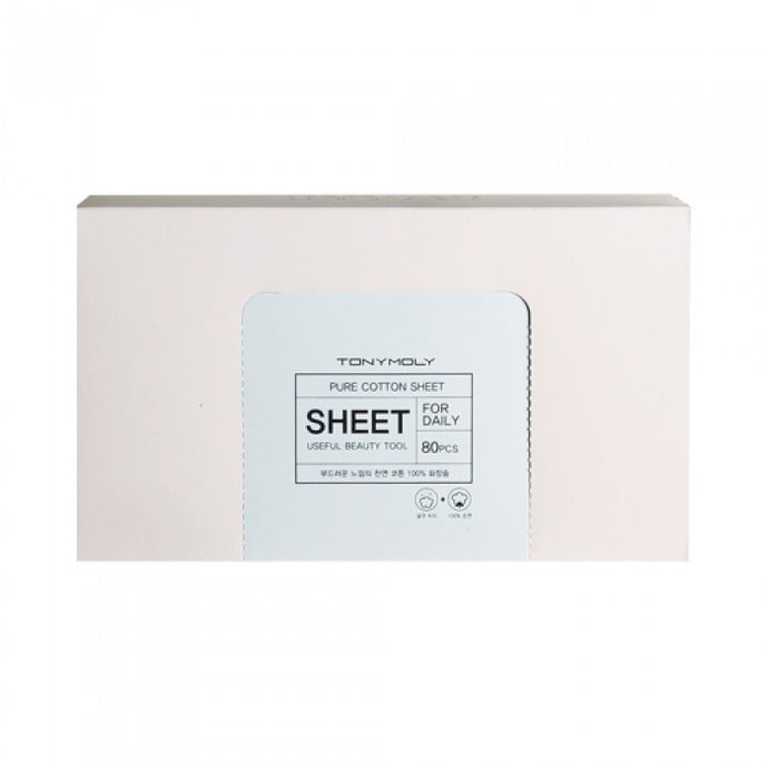 Pure Cotton Sheet for Cosmetics Removal