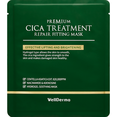 Wellderma Cica Treatment Repair Fitting Mask - Viktorystar