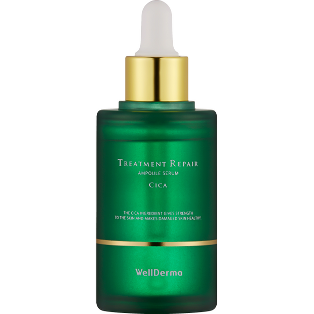 Wellderma Cica Treatment Repair Ampoule Serum - Viktorystar