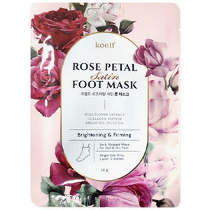 KOELF Rose Petal Satin Foot Mask - Viktorystar