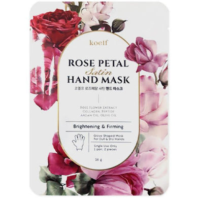 KOELF Rose Petal Satin Hand Mask - Viktorystar