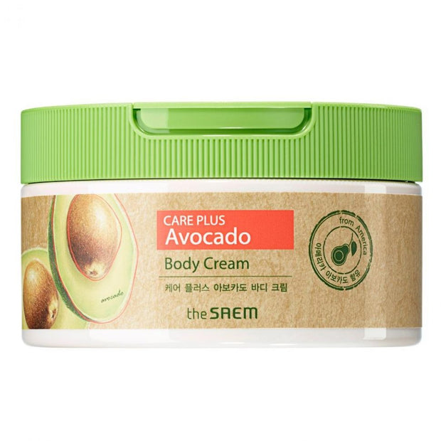 The Saem Care Plus Avocado Body Cream - Viktorystar