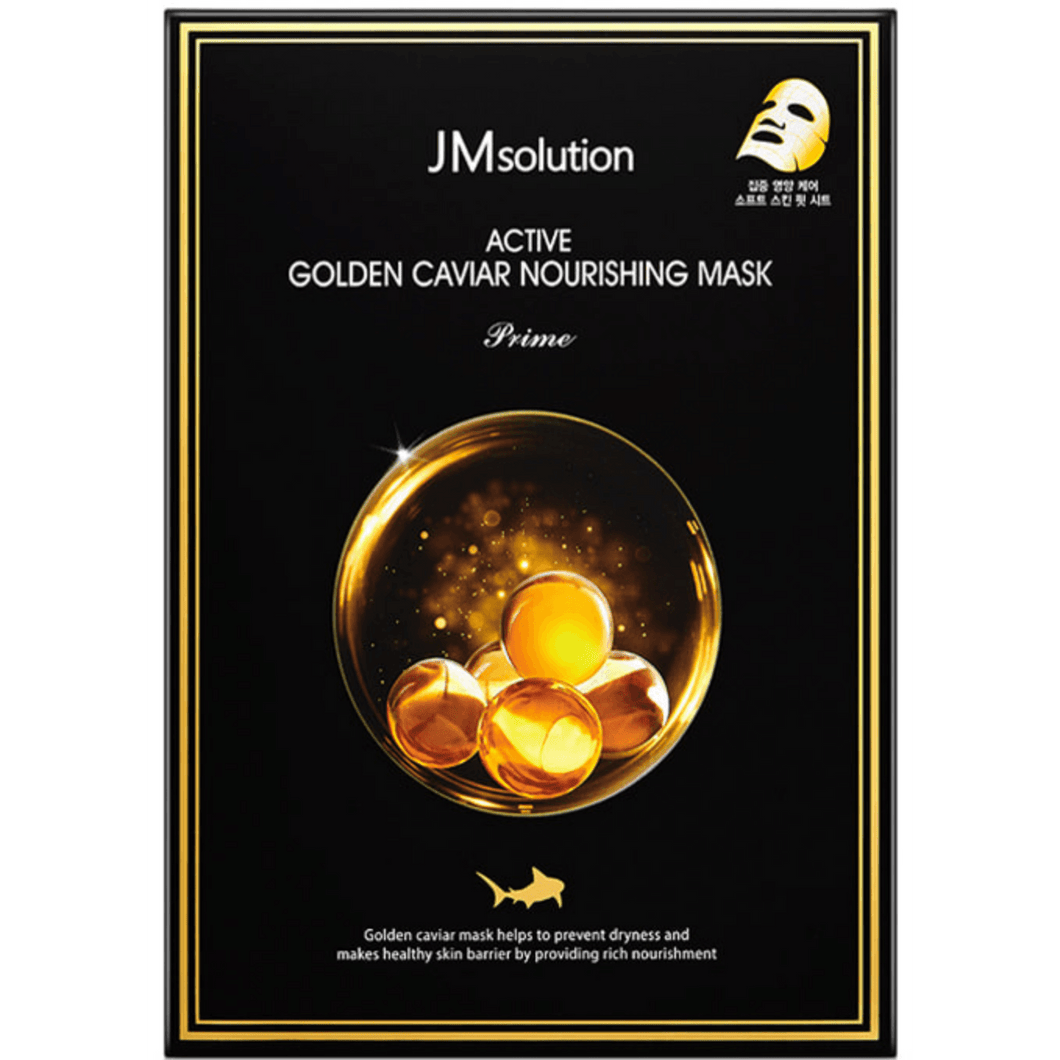[JMsolution] Active Golden Caviar Nourishing Mask Prime - Viktorystar