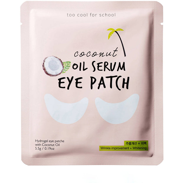 Too Cool For School Coconut Oil Serum Eye Patch - Viktorystar