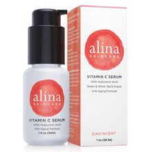 Load image into Gallery viewer, Enhanced Vitamin C Serum with Hyaluronic Acid