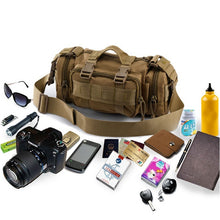 Shoulder Bag Waterproof Multi-Pack Bag - Sports Travel Camping - Man Bag