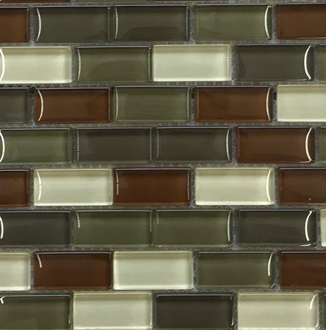 Glass Mosaic Wood Blend Gloss
