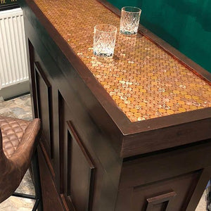 Coin Cast Counter Traditional Bar
