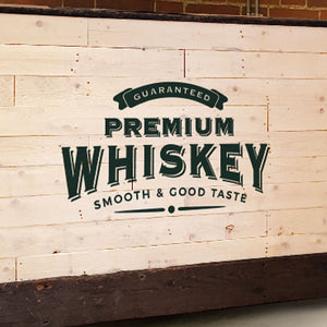 White Wooden Home Bar