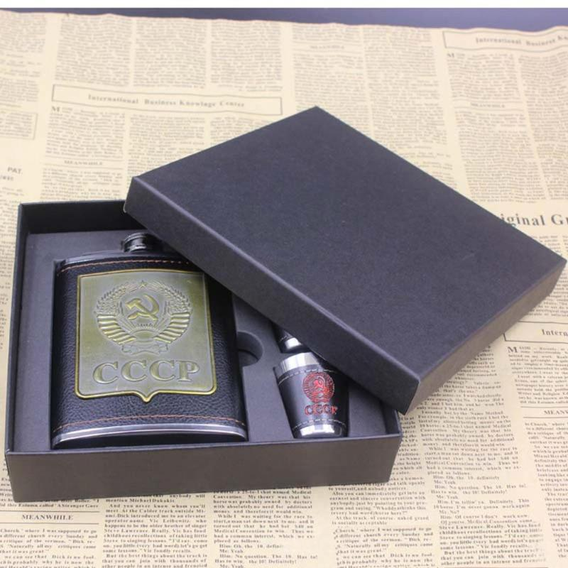 230ml Stainless Steel Alcohol Hip Flask