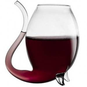 300ml Vampire Devil Red Wine Vodka Drink Glass