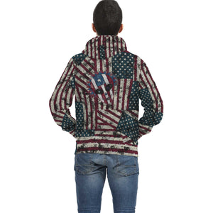 Freedom Sugar Skull Hoodie - Totally F*ing Brutal