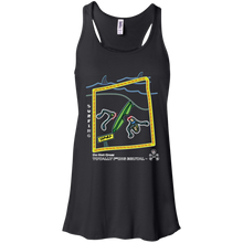 Surfing - Canvas Flowy Racerback Tank - Totally F*ing Brutal