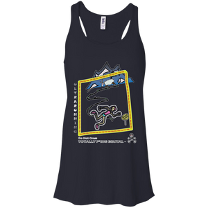 Trail Running - Canvas Flowy Racerback Tank - Totally F*ing Brutal