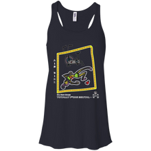 Air bike - Canvas Flowy Racerback Tank - Totally F*ing Brutal