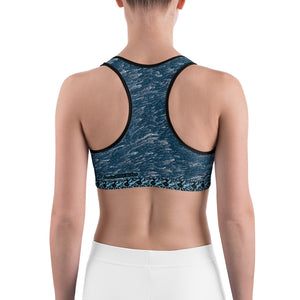 Blue Sea Storm Sports bra - Totally F*ing Brutal
