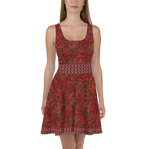 Red Hot Chili Skater Dress - Totally F*ing Brutal