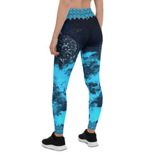 Sea Turtle Aussie Wild Side Leggings