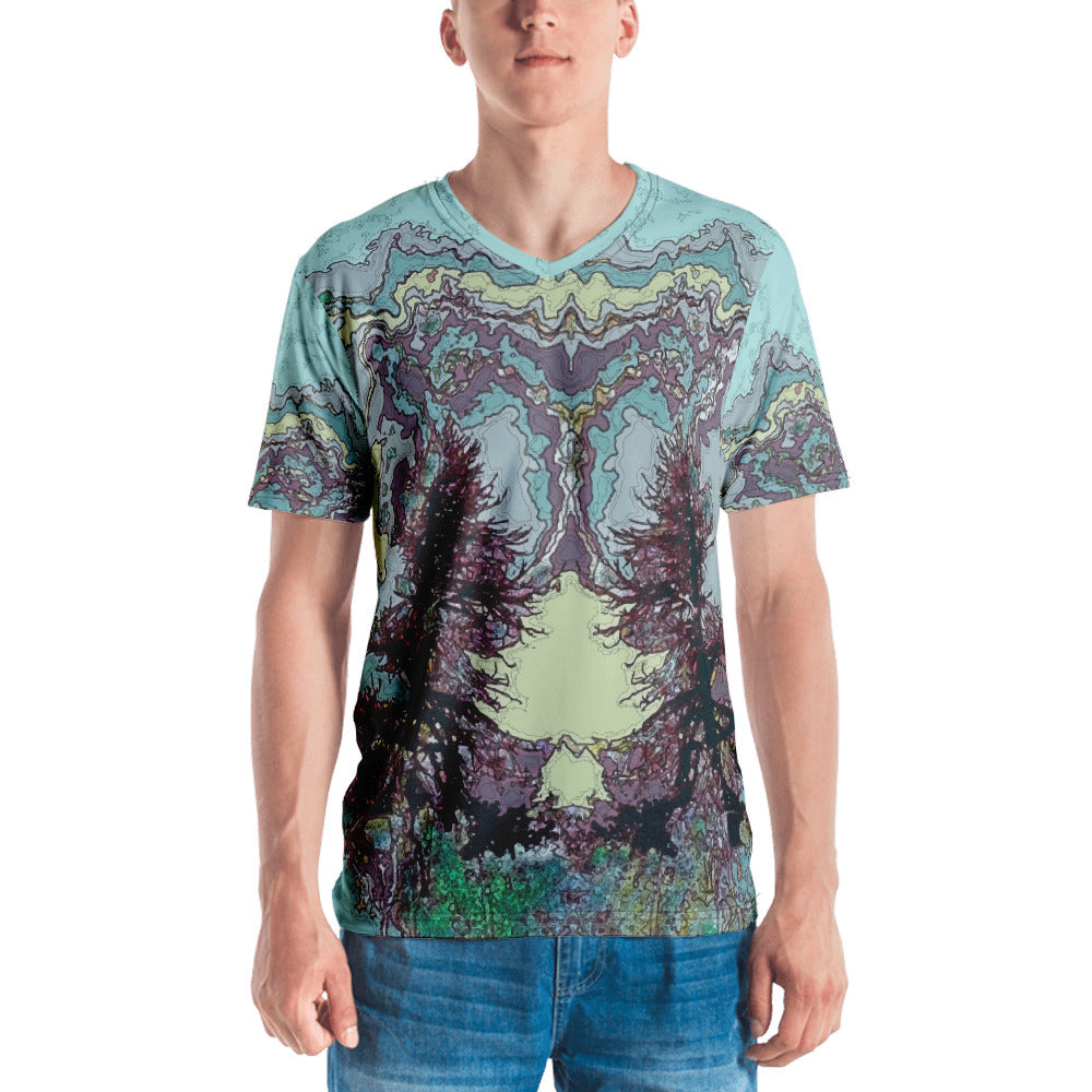 High Mountain Storm Tree Men's T-shirt - Totally F*ing Brutal