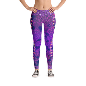 DNA Sugar Skull Leggings - Totally F*ing Brutal