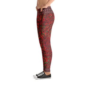 Red Hot Chili Leggings - Totally F*ing Brutal