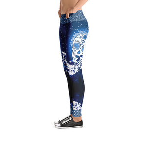 Mountain Moon - Tahoe Sugar Skull Leggings - Totally F*ing Brutal