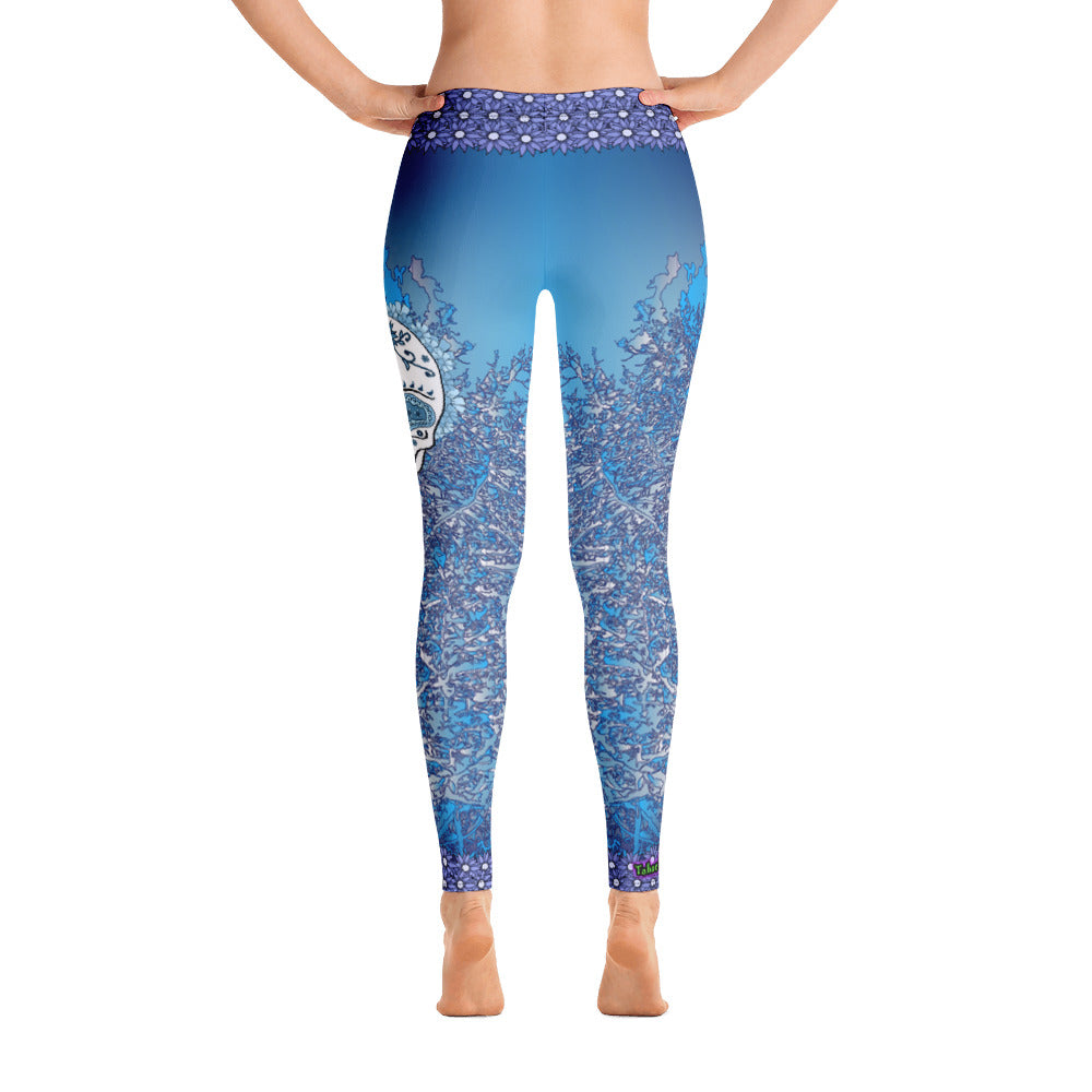 Winter Bones - Tahoe Sugar Skull Leggings - Totally F*ing Brutal