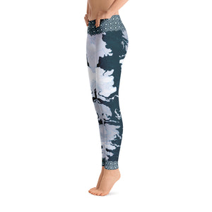 Ocean Canyon Leggings - Totally F*ing Brutal