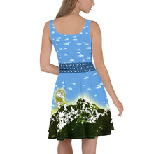 Alpine Sunrise - Tahoe Sugar Skull Skater Dress - Totally F*ing Brutal