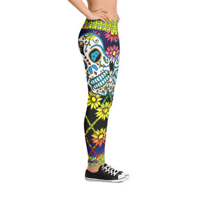 Big King - Tahoe Sugar Skull Leggings - Totally F*ing Brutal