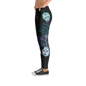 Soul Tree Sugar Skull Leggings - Totally F*ing Brutal