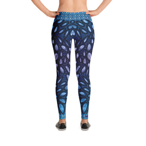 Blue Shell Leggings - Totally F*ing Brutal
