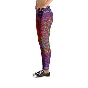 Fun Dragon Leggings - Totally F*ing Brutal