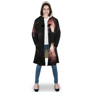 Sky-Fire Sugar Skull Sherpa Cloak - Totally F*ing Brutal