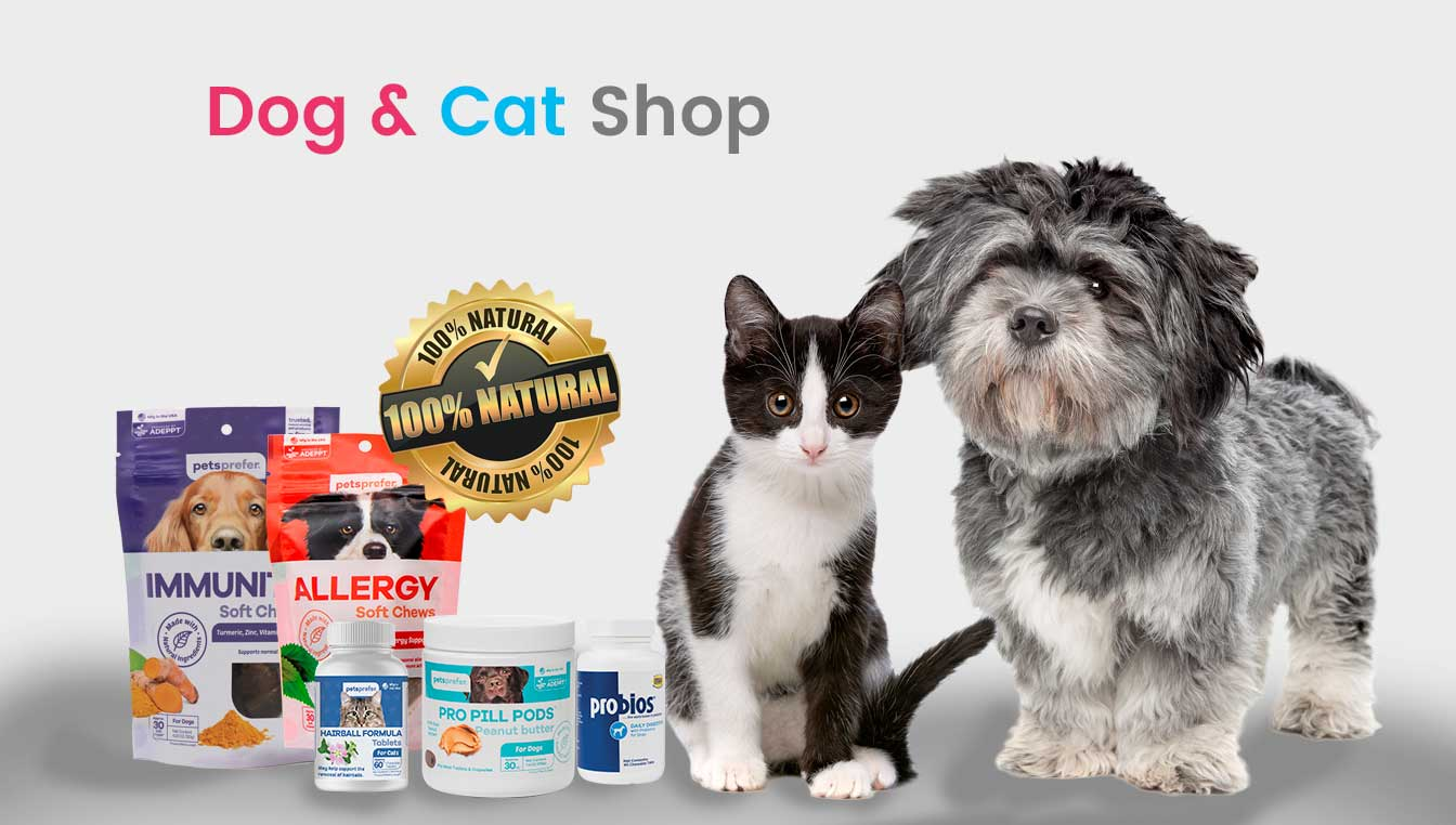 Animal health warehouse Dog and Cat shop