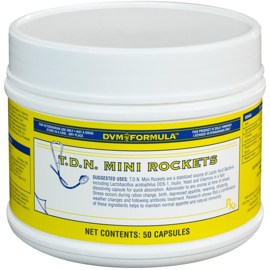DVM TON Mini Rockets {50 ct jar) - Animal Health Warehouse
