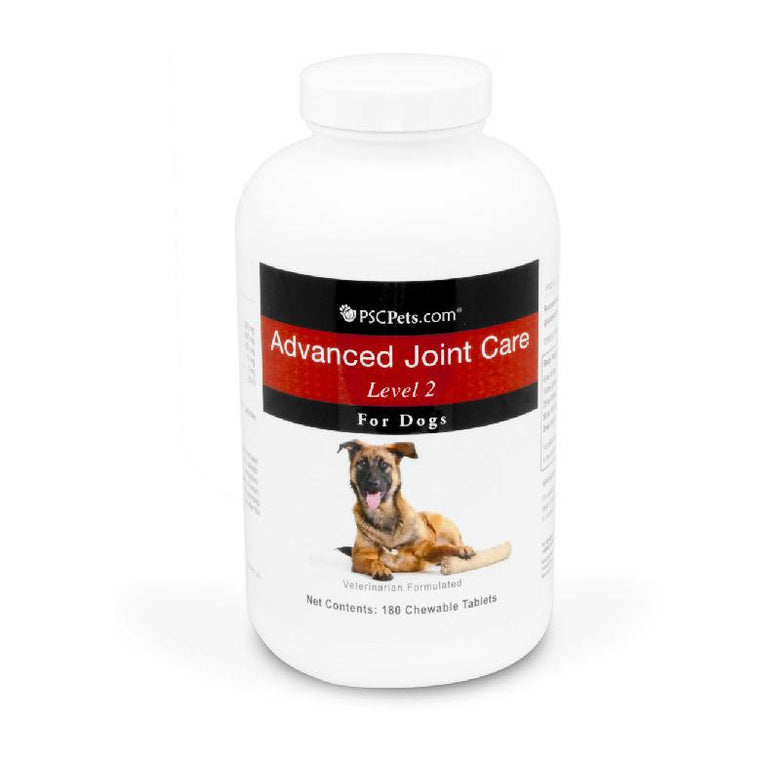 PSCPets Advanced Joint Care Level 2 for Dogs - 180 Tablets