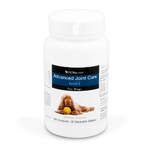 PSCPets Advanced Joint Care Level 1 for Dogs - 30 Tablets