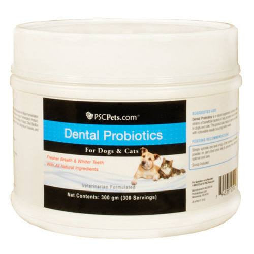 PSCPets Dental Probiotics for Cats and Dogs - 300 gm
