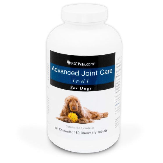 PSCPets Advanced Joint Care Level 1 for Dogs - 180 Tablets
