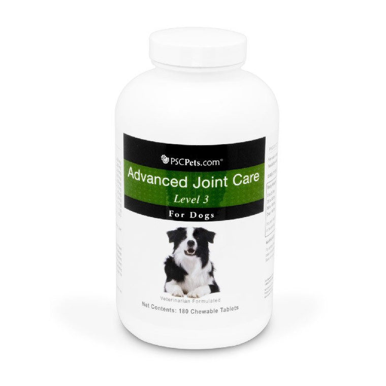 PSCPets Advanced Joint Care Level 3 for Dogs - 180 Tablets