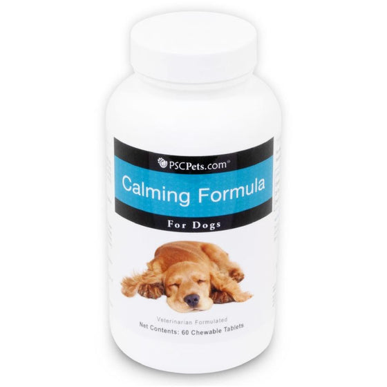 PSCPets Calming Formula for Dogs - 60 Chewable Tablets