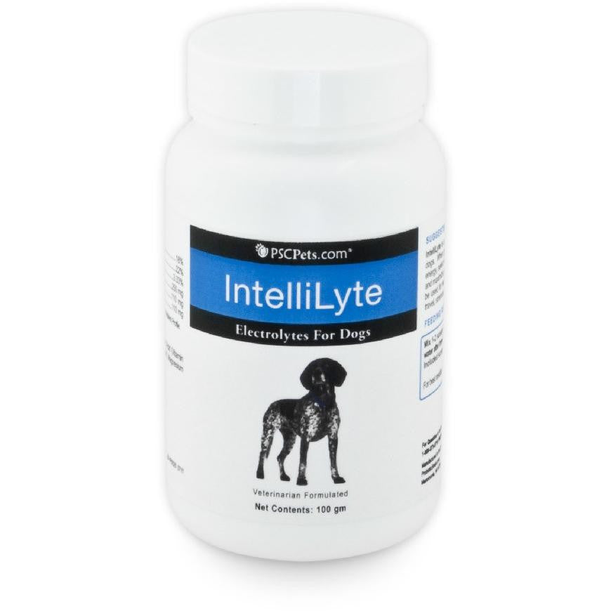 PSCPets IntelliLyte Electrolytes for Dogs, 100 gm bottle