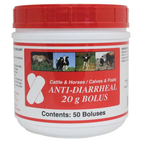 Anti Diarrheal Bolus Cattle 50S