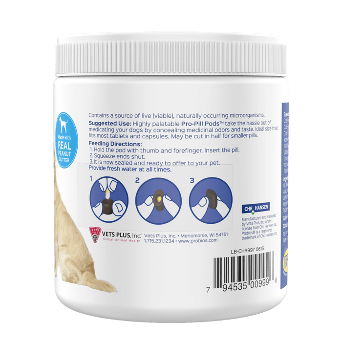 Pro-Pill Pods Peanut Butter Large