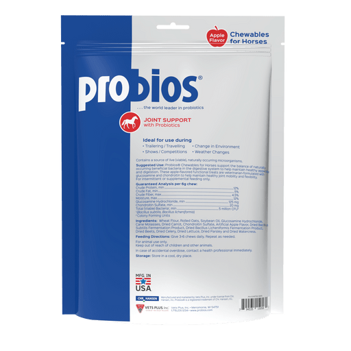 Probios Horse Treats - Hip and Joint with Glucosamine