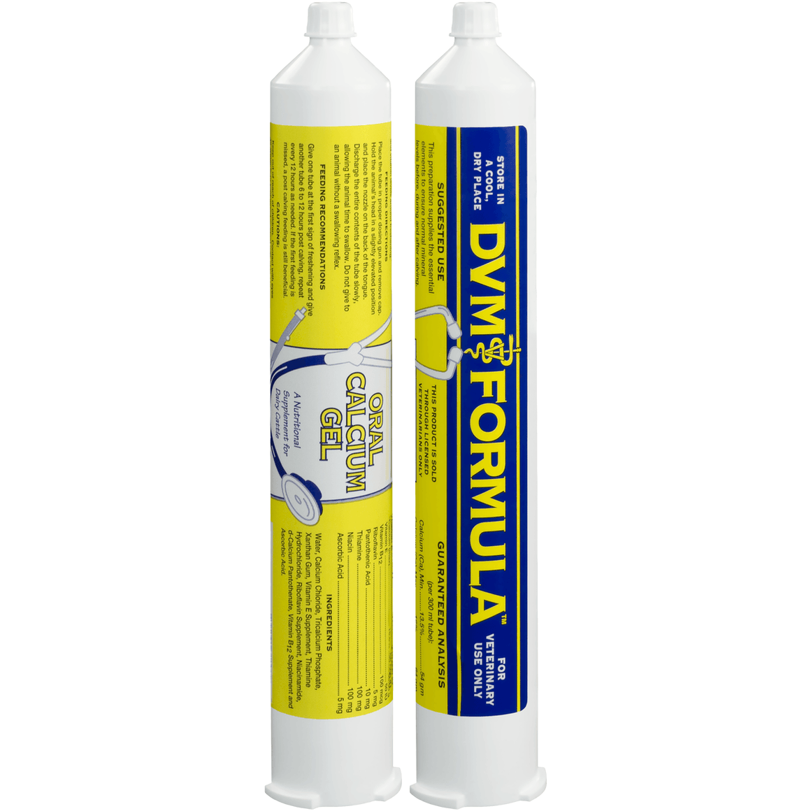 DVM equine oral calcium gel 300cc - Animal Health Warehouse