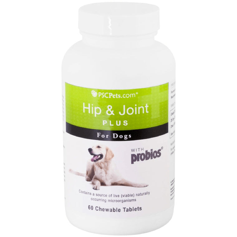 PSCPets Hip & Joint Plus with Probios, 60 count bottle