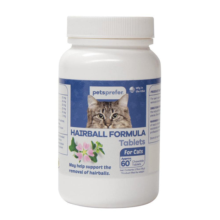 PP Hairball Formula Tabs Cat 60 CT