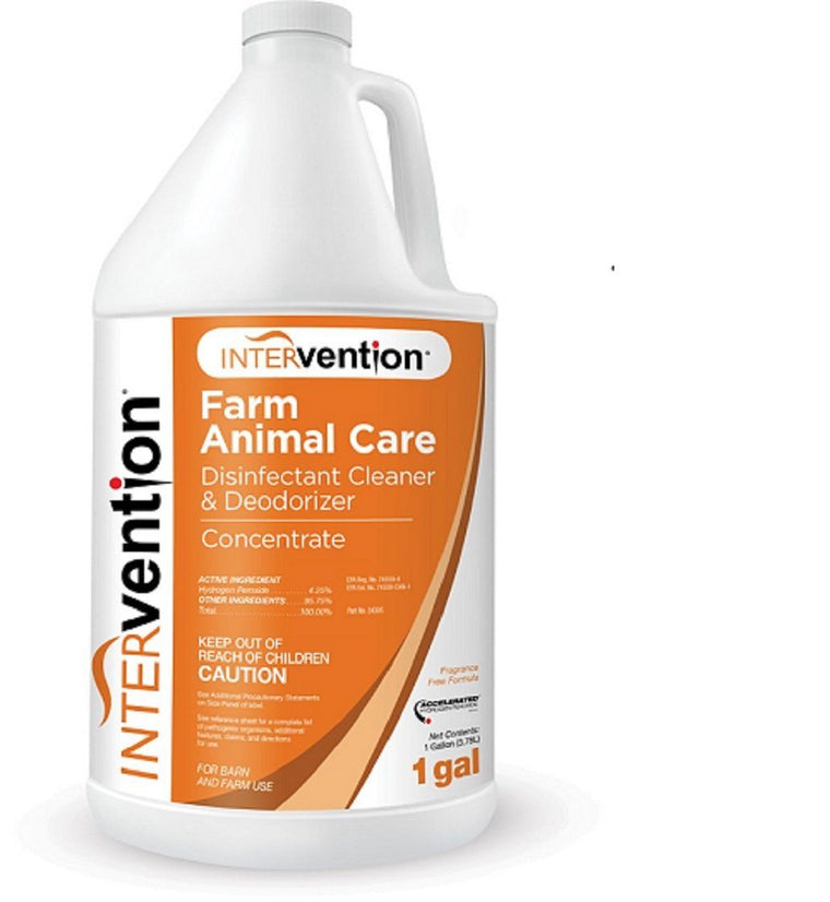 INTERVENTION® DISINFECTANT CONCENTRATE 1 GALLON 1/PKG